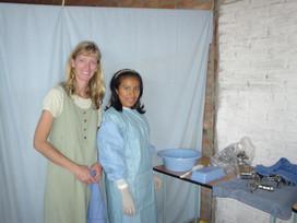 USA Dra. Randi McVey held many OB/GYN mission clinics training. Thank you, Dra. Randi