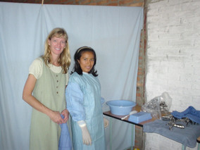 USA Dra. Randi McVey held many OB/GYN mission clinics training. Thank you, Dra. Randi