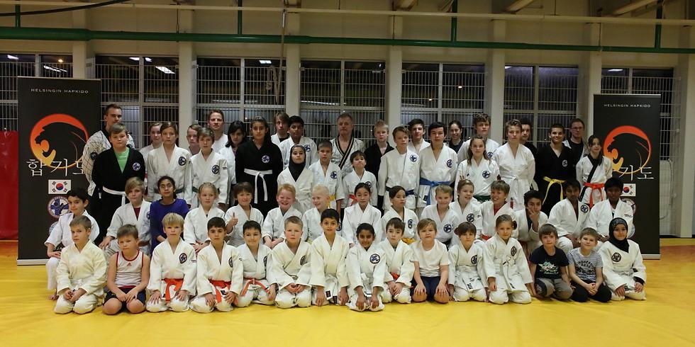 Valtakunnallinen Hapkido-Junioreiden syysleiri 25.11.2018
