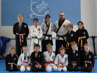 HMAC:n vyökokeessa 11 Hapkido-juniorin vyön väri vaihtoon!