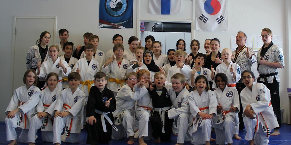 Hapkido-Junioreiden kevätkisailut 5.5.2018