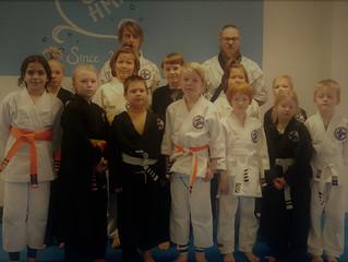 HMAC:n Hapkido-Juniorit näyttivät tänäään taitoja vyökokeessa!