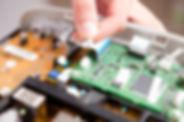 Adaptando maquina fisal con su nuevo dispositivo de transmisión de datos