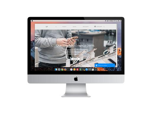 Solupro cambia el diseño de inicio de su página de Internet