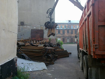вывоз металлолома в Самаре, вывоз металлолома бесплатно, вывоз металлолома за деньги, сдать металлолом с вывозом