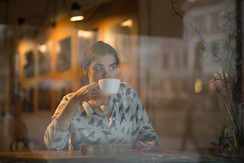 Enjoy Penngrove Market's coffee bar while you listen to our readers