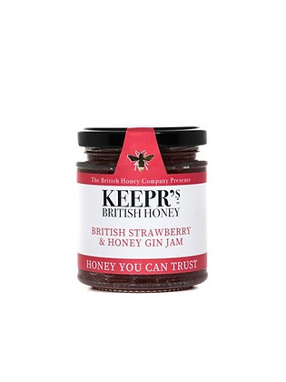 KEEPR'S Strawberry & Honey Gin Jam, 227g