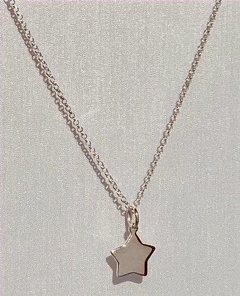 Dinky Fingerprint's Sterling Silver Star Necklace