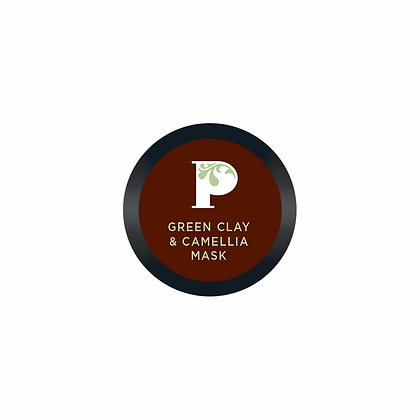 Pinks Boutique Petite Green Clay & Camellia Mask