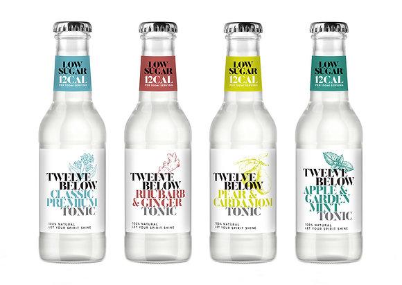 Twelve Below Low Sugar Tonics