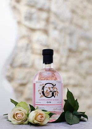 English Heritage Elderflower & Rose Gin, 5cl