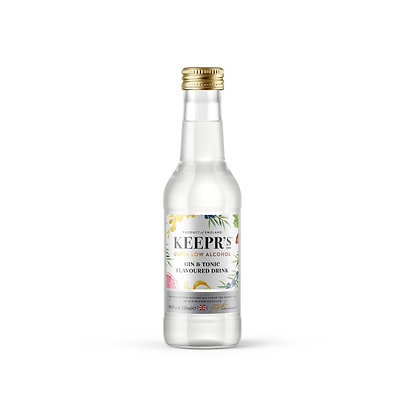KEEPR'S Low Alcohol Gin & Tonic Flavoured Drink, 250ml