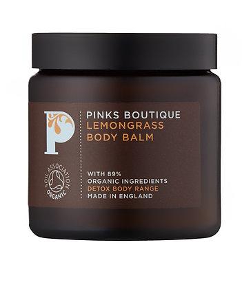 Pinks Boutique Lemongrass Body Balm, 90g