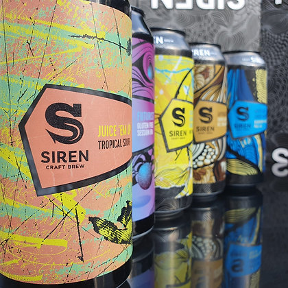 Siren Craft Ale, 440ml cans