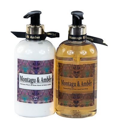 Montagu & Amber Hand Soap and Lotion