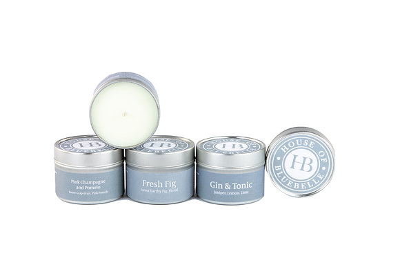 House of BlueBelle Tin Candles