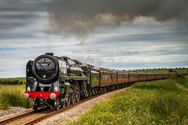 BR Britannia Class Loco 70013
