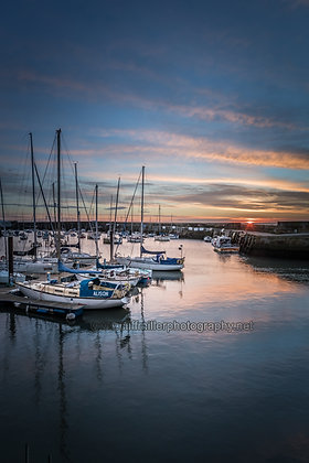 Sunrise over the Outer Harbour...