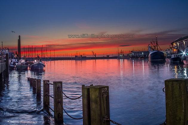 Morning Star at Daybreak