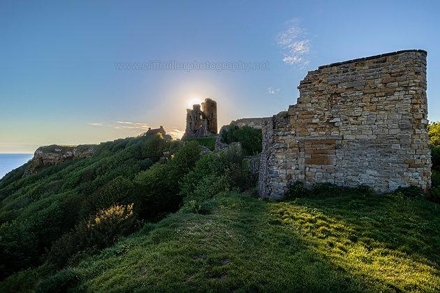 Sunrise over the Castle.