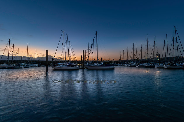 Daybreak at the Marina.