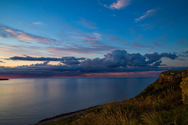 Summer evening over the North Bay.