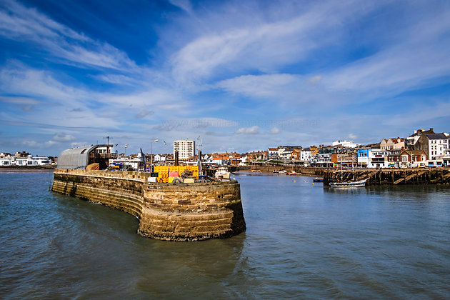 Bridlington Harbour.