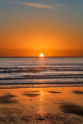 Golden Sands at Sunrise