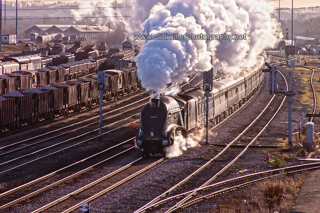 LNER Gresley streamlined pacific : 60009 Union of South Africa.