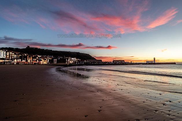 Pink & Blue at Daybreak.