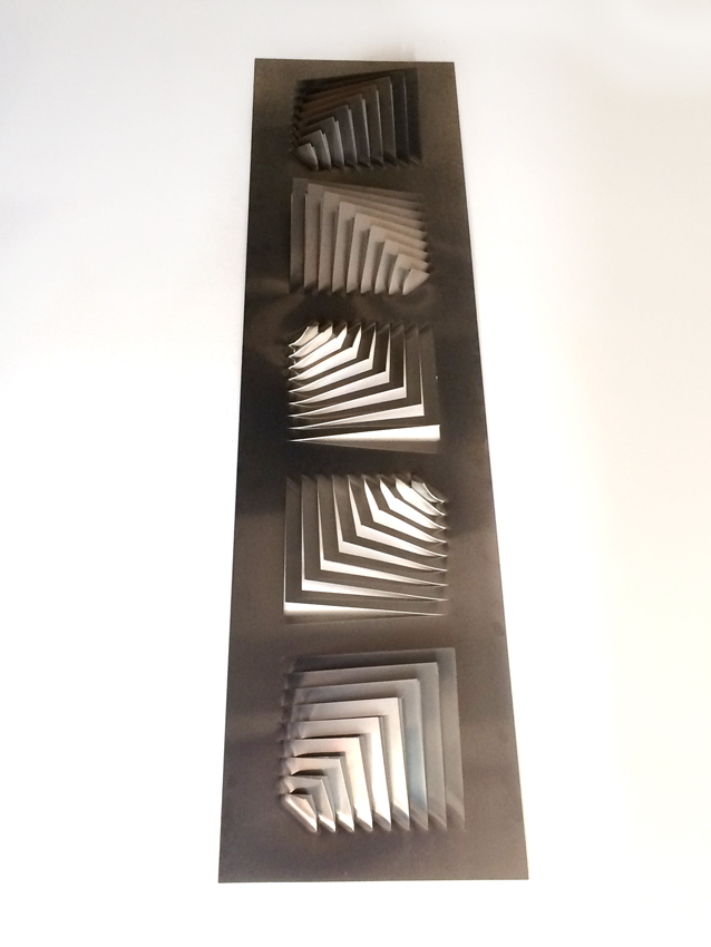 "Wall Sculpture - ""5 arrows"""