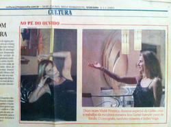 """newspaper """"HOJE EM DIA"""" 03/11/2001"""