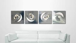 """Wall Sculpture - """"Target"""""""