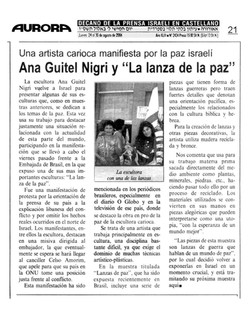 "newspaper ""Aurora"" Israel 24/08/26"