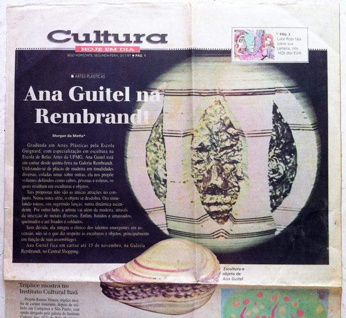 """newspaper """"HOJE EM DIA"""" 03/11/97"""