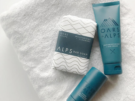 Oars + Alps Skincare Products for Men