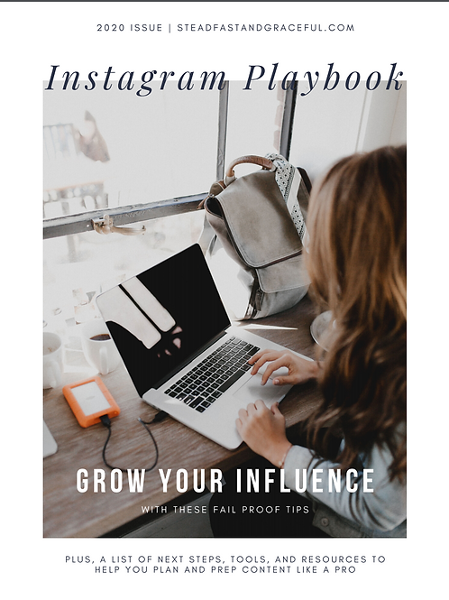 Instagram Playbook