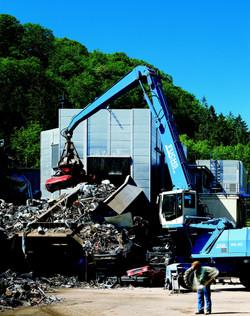 Metallverwertung und Recycling