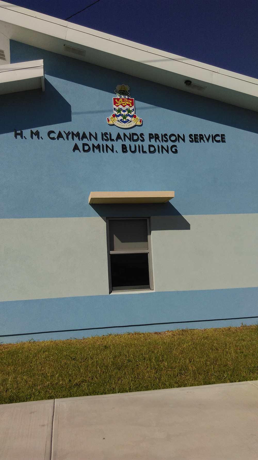 HM Cayman Islands Prison Service Admin Building