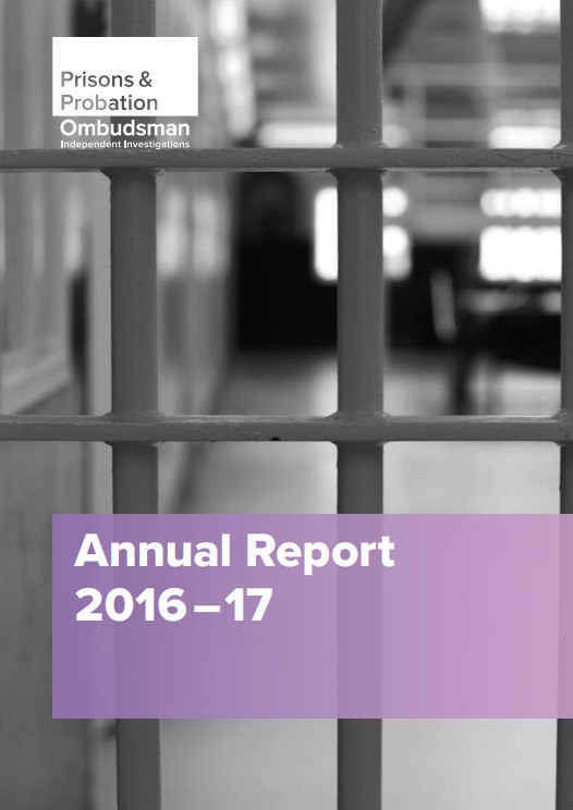 Prisons and Probation Ombudsman Annual Report 2016-17
