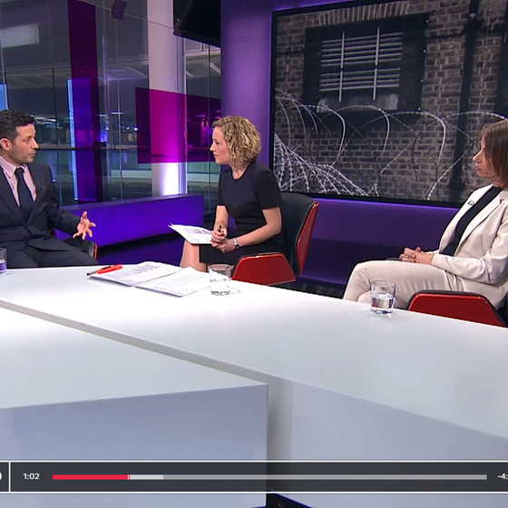 SL5's Andrew Sperling invited to appear on Channel 4 News to discuss the Parole Board's deci