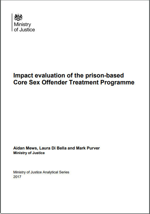 Impact evaluation of the prison-based Core SOTP