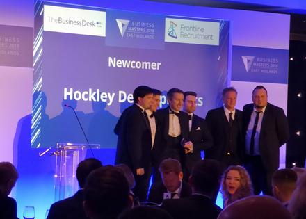 Hockley Developments Best Newcomer 2019