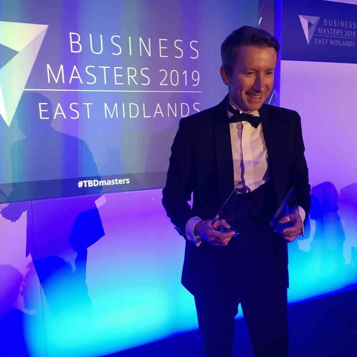 Alan Forsyth East Midlands Business Awards