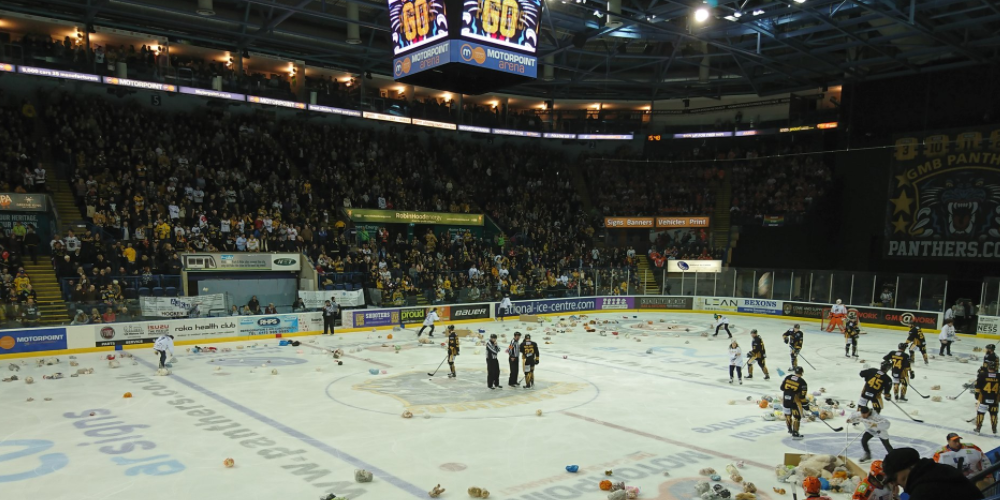 Motorpoint Arena Home of Nottingham Panthers