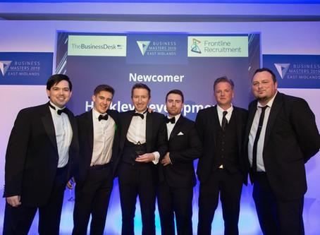 Hockley To Partner With Business Desk Awards