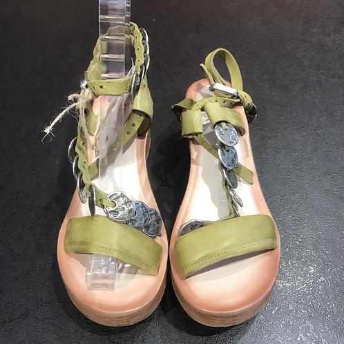 A.S. 98 sandal (grøn)