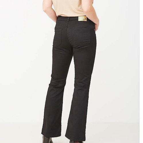 Isay Flare jeans (sort)