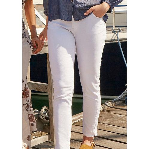 Isay zip pant (hvid)