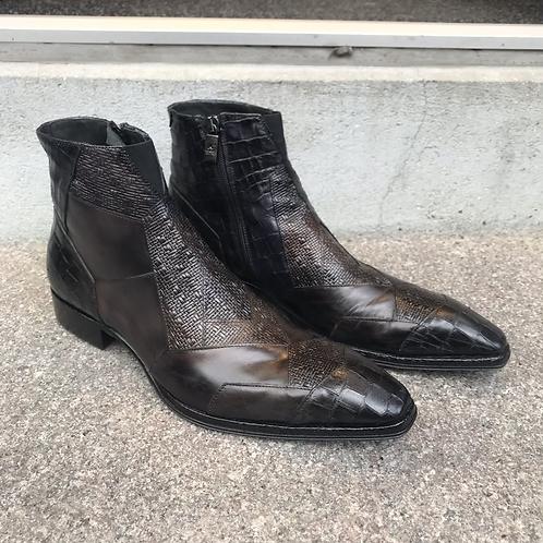 Jo Ghost støvle (brun/sort)
